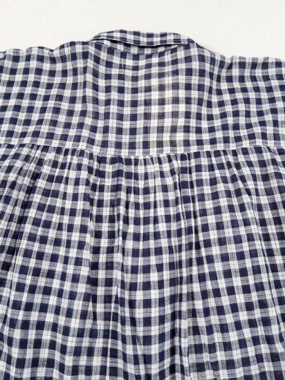 SOIL  GATHERED SHIRT DRESS  INSL19042 4