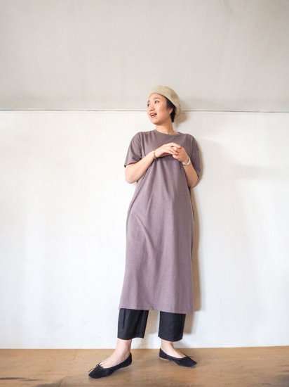 SOIL  CREW NECK JERSEY DRESS  GNSL19032 11