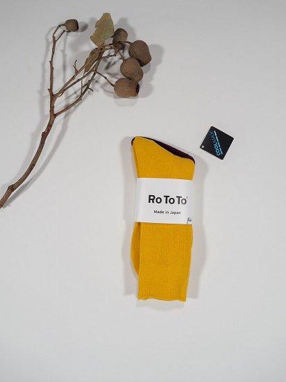 Rototo RIB PILE SOCKS R1209 8