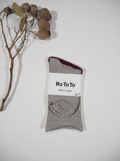 Rototo  MOCCHILY SOCKS R1089 6
