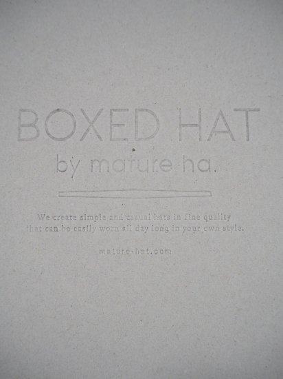 mature ha.  BOXED HAT 11�BRIM [101SWW] MBOX-101SWW 5