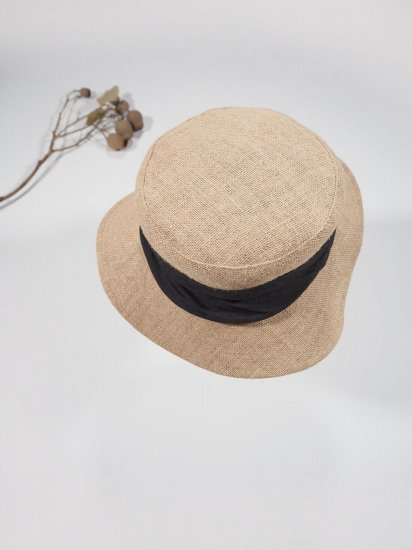mature ha.   JUTE DRAPE HAT MIDDLE MJT-01M 4