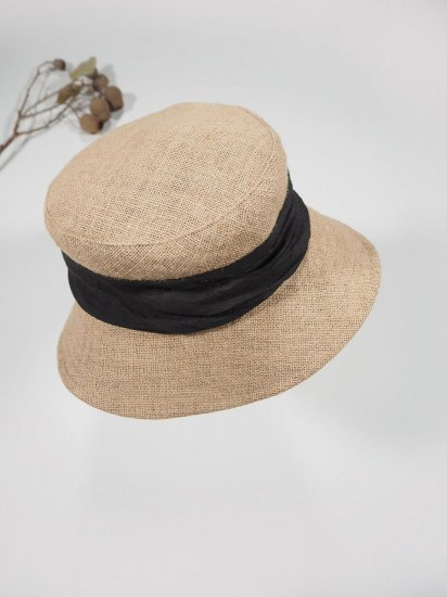 mature ha.   JUTE DRAPE HAT MIDDLE MJT-01M 5
