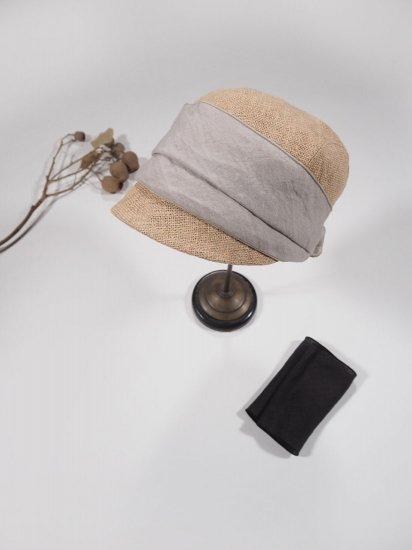 mature ha.  JUTE SCARF CAP MJT-03 4