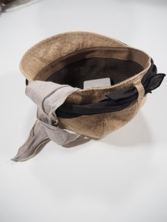 mature ha.  JUTE SCARF CAP<img class='new_mark_img2' src='https://img.shop-pro.jp/img/new/icons14.gif' style='border:none;display:inline;margin:0px;padding:0px;width:auto;' />