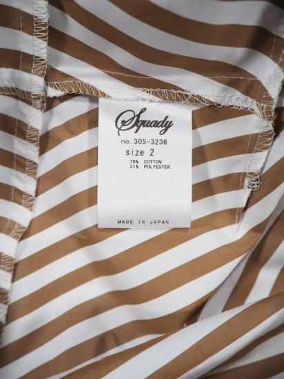 Squady ストライプスキッパーシャツ 305-3236 11