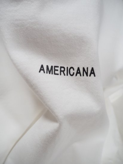 AMERICANA  両サイドZIP BIG TEE O/P BRF-433A 9