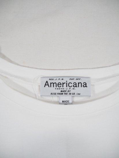 AMERICANA  両サイドZIP BIG TEE O/P BRF-433A 7