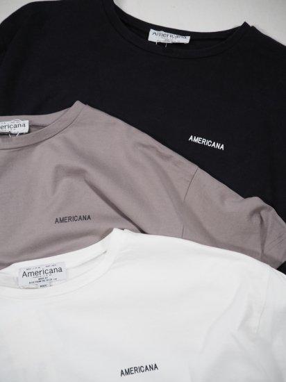 AMERICANA  両サイドZIP BIG TEE  BRF-432A 11