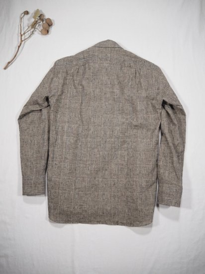 James Mortimer  BD COLLAR SHIRT GLEN 5