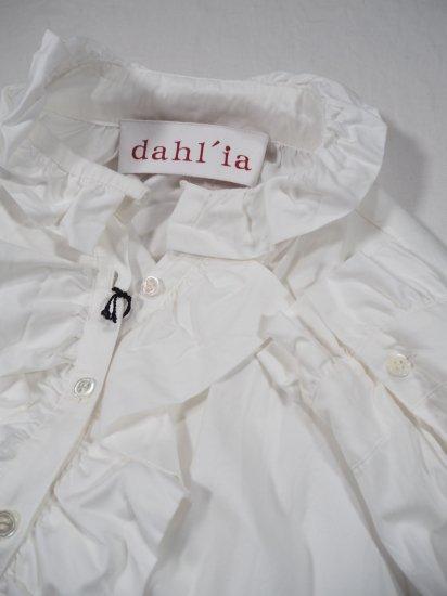 dahl'ia  ロングスリーブフリルシャツ DBL-286 6
