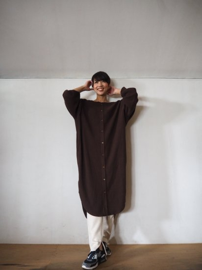 AMERICANA  サーマルBACK HENLY LONG CARDIGAN BRF-415A 10