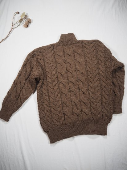 LENO  Big Cable Sweater U1902-K002 9