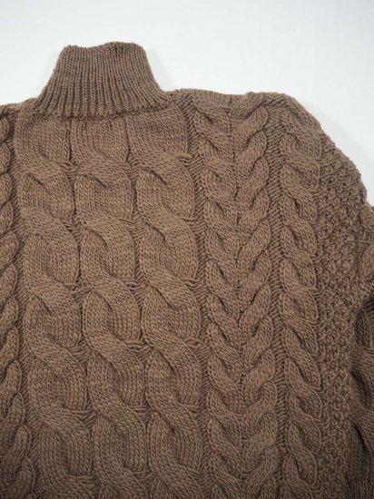 LENO  Big Cable Sweater U1902-K002 10
