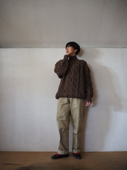 LENO  Big Cable Sweater  U1902-K002 13