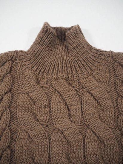 LENO  Big Cable Sweater U1902-K002 5