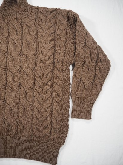 LENO  Big Cable Sweater  U1902-K002 6