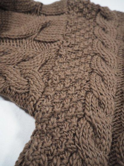 LENO  Big Cable Sweater U1902-K002 7