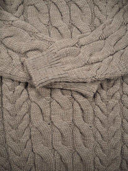 LENO  Big Cable Sweater U1902-K002 8