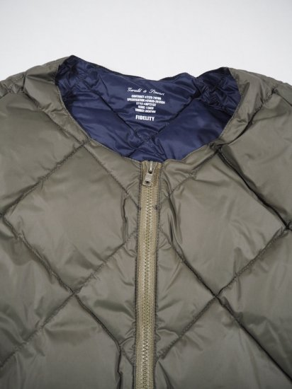 FIDELITY LIGHT DOWN JACKET  26150 1