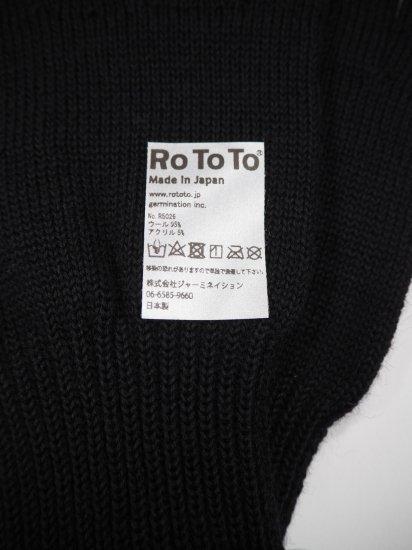 Rototo MERINO WOOL TOUCH PANEL GLOVE  R1261 4