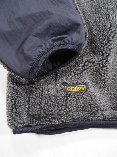 orSlow  FLEECE JACKET  03-6018 1