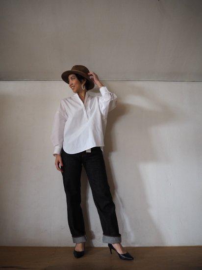 LENO  BRIGITTE Straight Black Jeans L2001-J001 9