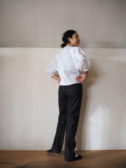 LENO  BRIGITTE Straight Black Jeans L2001-J001 8