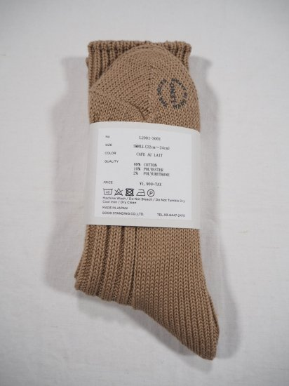 LENO  COTTON RIB SOCKS (Small) L2001-S001 3