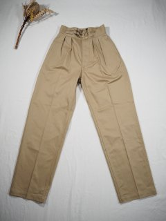 LENO  DOUBLE BELTED GURKHA TROUSERS