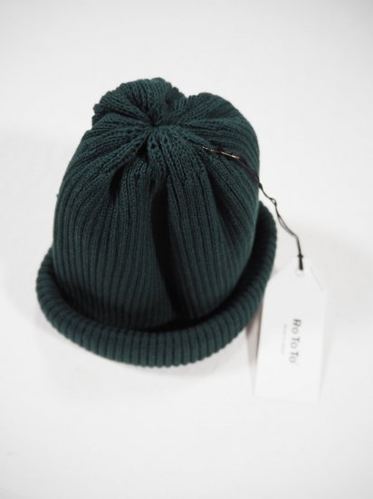 Rototo COTTON ROLL UP BEANIE R5021 0