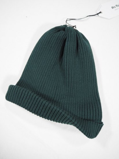 Rototo COTTON ROLL UP BEANIE R5021 2