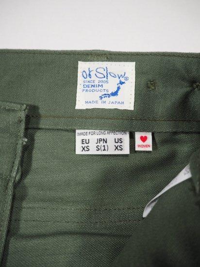 orSlow  HIGH WAIST FATIGUE PANTS 00-5042 10