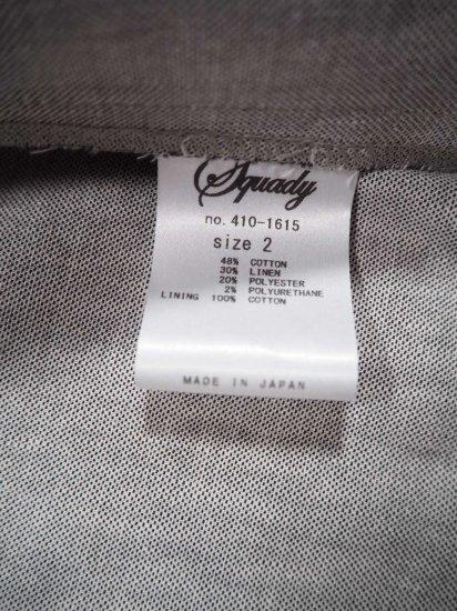 Squady 綿麻ピンヘッドジャケット 410-1615 5