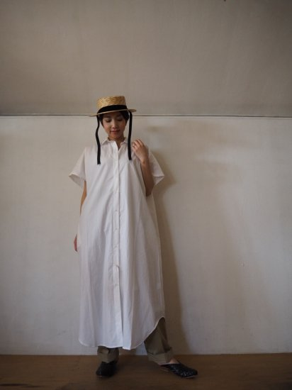 orSlow  KIMONO SLEEVE ONE PIECE SHIRT 00-9515 6