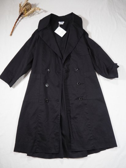YARMO DOUBLE BREASTED COAT CO19 0