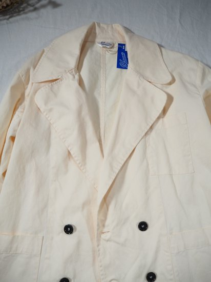 YARMO DOUBLE BREASTED COAT CO19 7