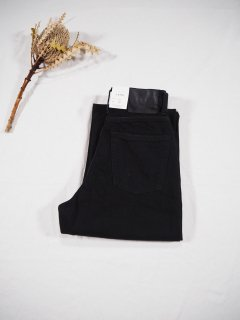 LENO  KAY High Waist Jeans[BLACK]