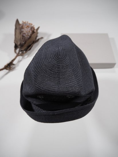 mature ha.  BOXED HAT 7� BRIM [grosgrain ribbon] MBOX-104 0