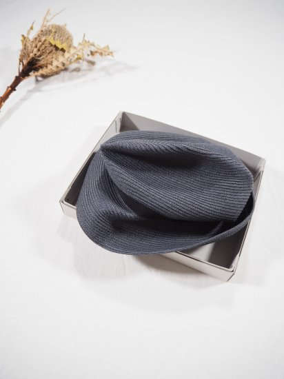 mature ha.  BOXED HAT 7� BRIM [grosgrain ribbon] MBOX-104 2
