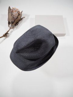 mature ha.  BOXED HAT 7� BRIM [grosgrain ribbon]