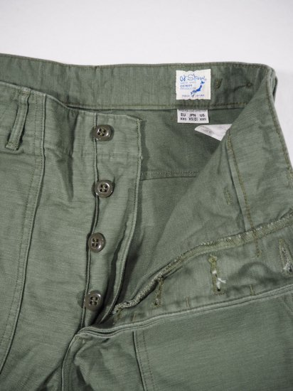 orSlow  US ARMY FATIGUE PANTS (BUTTON FLY) 01-5002 2