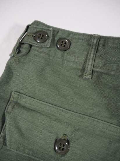 orSlow  US ARMY FATIGUE PANTS (BUTTON FLY) 01-5002 5