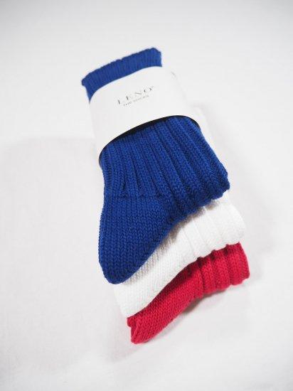 LENO  Cotton Rib Socks(Small) L2002-S001 5
