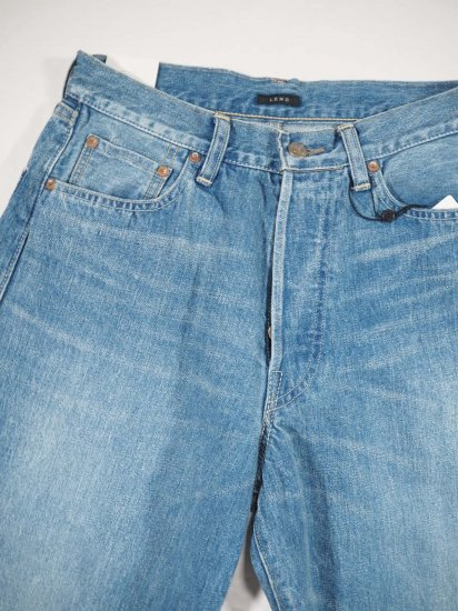LENO  LOOSE TAPERED JEANS  H2002-J004F 1