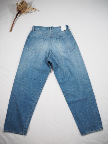 LENO  LOOSE TAPERED JEANS  H2002-J004F 5