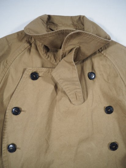 HTS COTTON DOUBLE OVER COAT NHT2052DT 1