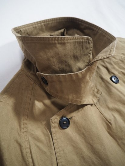 HTS COTTON DOUBLE OVER COAT NHT2052DT 2