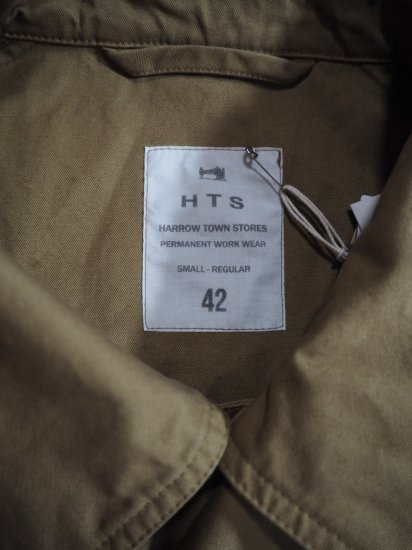 HTS COTTON DOUBLE OVER COAT NHT2052DT 3