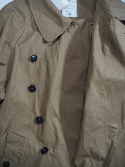 HTS COTTON DOUBLE OVER COAT NHT2052DT 4